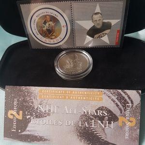 🌟NHL All-Stars🌟 2001 Stamp and Medallion Set